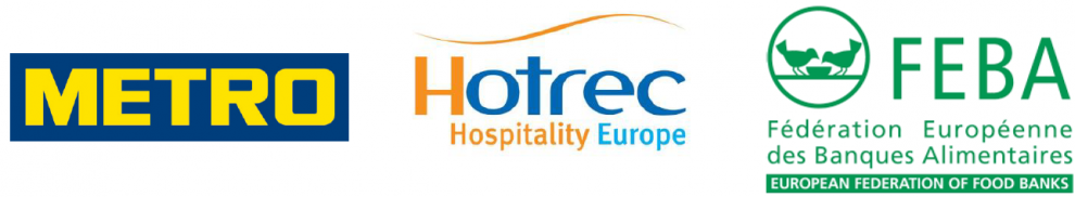 The European hospitality industry teams-up with METRO AG and European Food Banks to fight against food waste